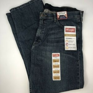 Wrangler Performance Relaxed Fit Jeans 36x30 NWT
